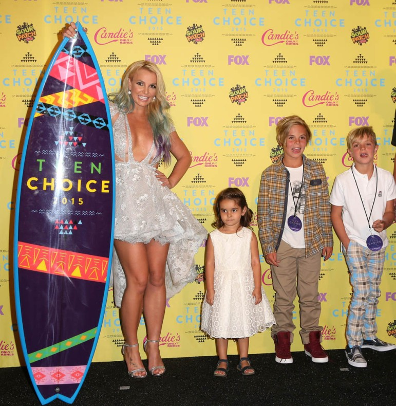 Teen Choice Awards 2015 - Press RoomFeaturing: Britney Spears,